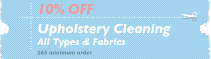Cleaning Coupons | 10% off upholstery cleaning | Queens Rug Cleaning